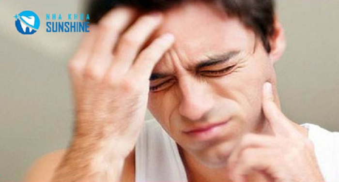 làm răng sứ bị đau khi nhai