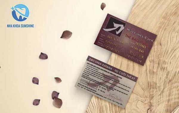 thẻ bảo hành răng sứ zirconia
