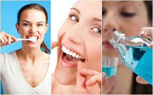 trồng răng bị đen lợi